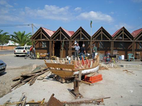 BOATBUILDING in Cabanas de Tavira.east-west-algarve