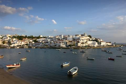 Ferragudo.Agarve coast Portugal