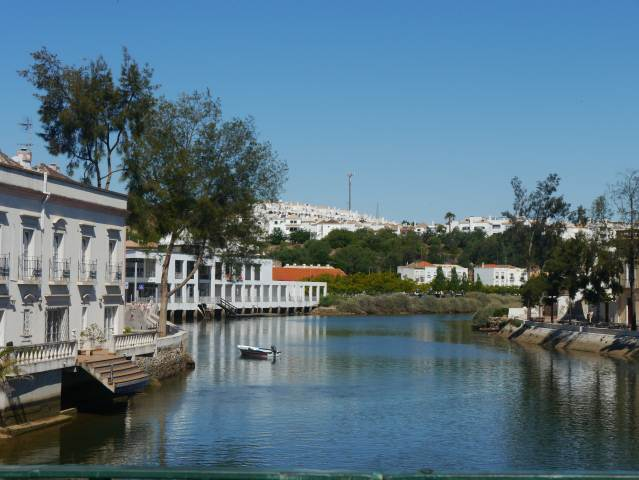 The Roman Bridge Tavira,Algarve Portugal