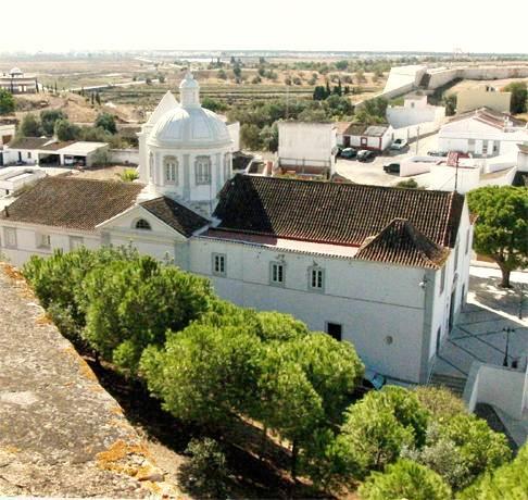 CASTRO MARIM CHURCH EAST ALGARVE