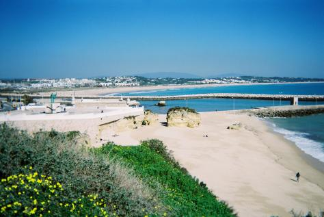 Portugal holiday beach Algarve town of Lagos