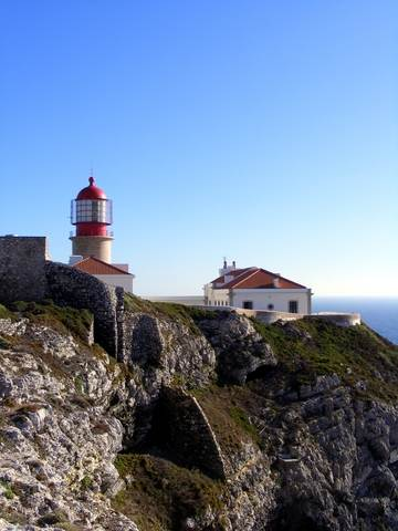CAPE ST VINCENT LIGHTHOUSE SAGRES ALGARVE PORTUGAL
