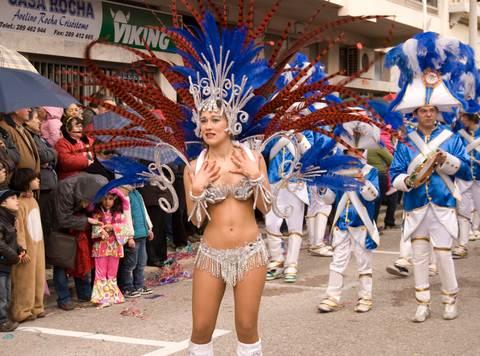 Loule Carnival Dancers