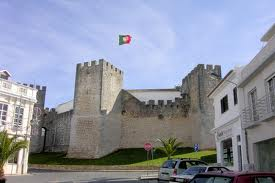Loule castle near faro in the Algarve Portugal