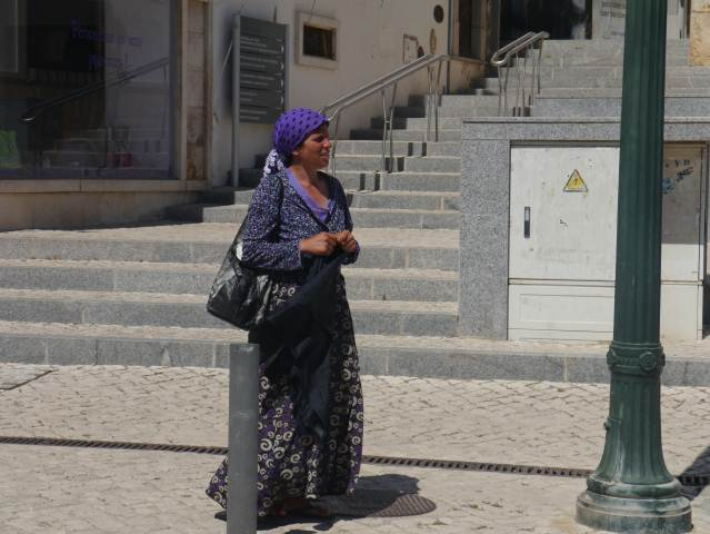 Moroccan national dress in the Algarve Portugal