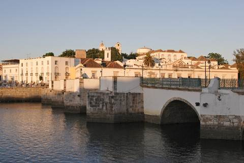 Algarve Tavira Roman Bridge.With east-west-algarve.com
