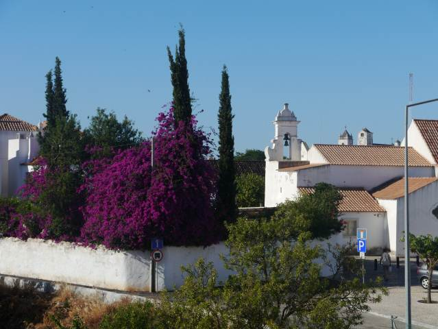 View from Porta Nova Hotel,Tavira Algarve ,Portugal.