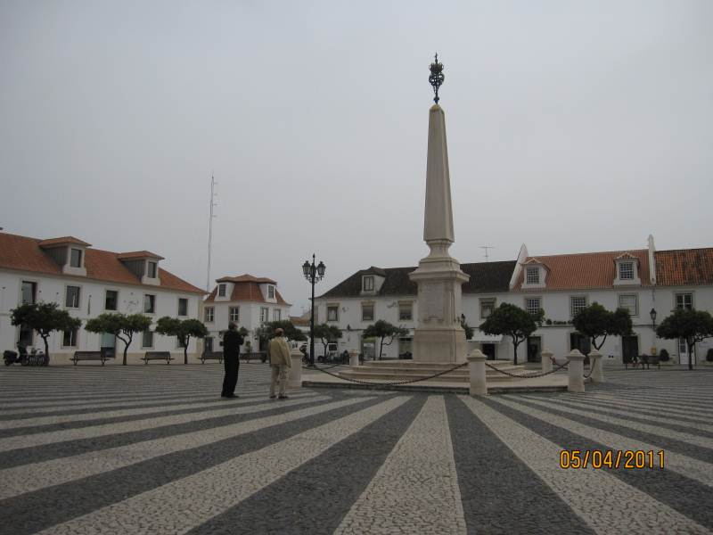 East Algarve Vila Real Santo Antonio.The public square.