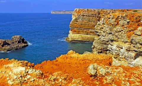 SPECTACULAR ALGARVE COASTAL SCENERY