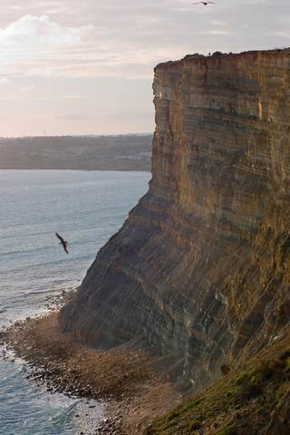 Portugal Algarve Lagos cliffs