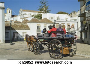 EAST-WEST-ALGARVE TAVIRA HORSE AND CART
