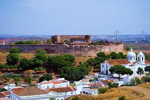 Castro Marim in East Algarve Portugal