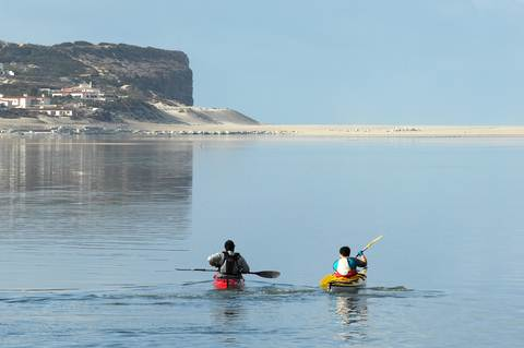 Algarve Cabanas de Tavira kayaking and canoeing