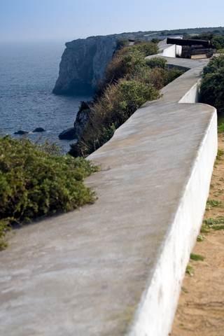 Algarve fortaleza at Sagres Portugal