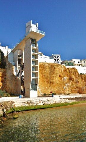 ALGARVE BEACH ELAVATOR AT ALBUFEIRA