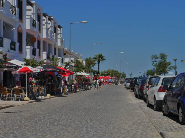CABANAS DE TAVIRA SHOPS AND CAFES,PORTUGAL