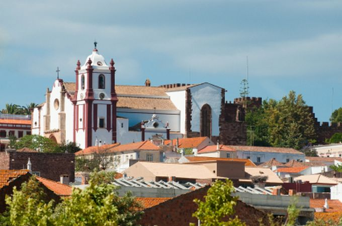 ALGARVE SILVES CATHEDRAL.With east-west-algarve.com